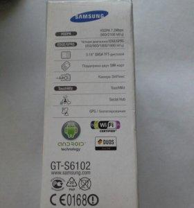 Телефон Самсунг-s6102