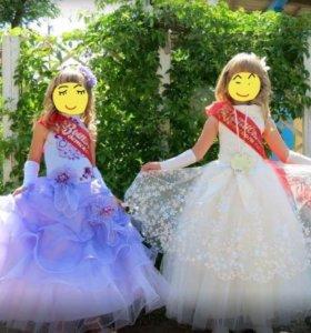 Платья на девочек