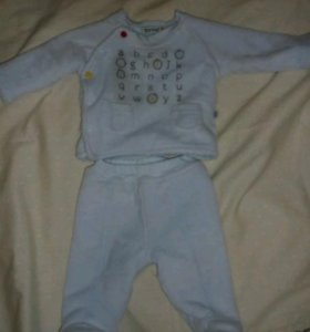 Теплый костюм на малыша