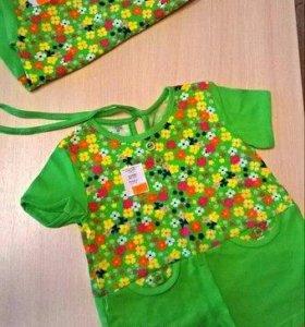 Новое платьице на девочку р-н 80-86