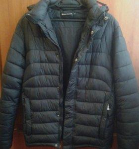 Куртка зимняя на подростка, р-р 46