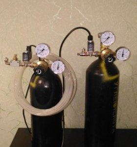 Системы СО2 для подачи углекислоты в аквариум