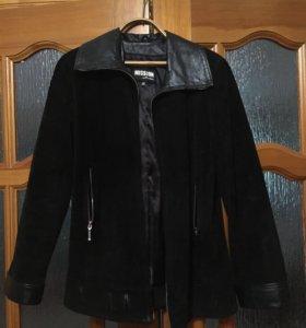 Куртку замшевая