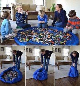 Коврик для игрушек и Лего.