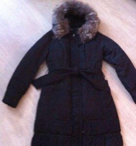 Зимнее пальто 44-46р