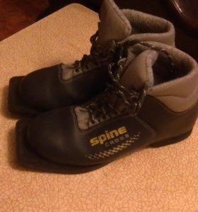 Лыжные детские ботинки 34размер