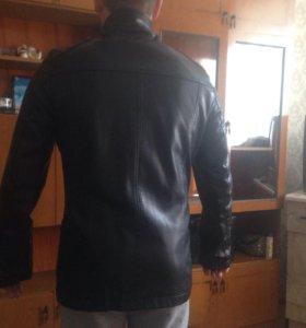 Куртка осенний кожаная
