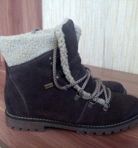 Ботинки зимние 38 р-р