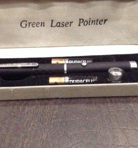Мощный зелёный лазер (Green Laser Pointer)