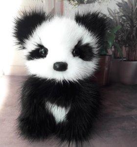 Панда-карманная игрушка.Пошив.