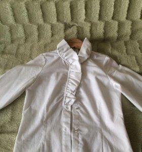 Праздничная блузка для девочки.