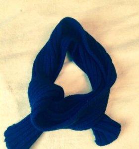 Чёрный шарф классика