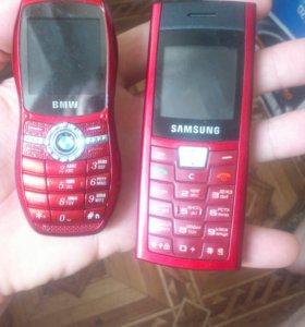 Samsung C170 и BMW красные