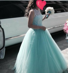 Платье на выпускной .Свадебное платье