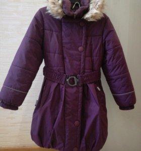 Зимнее пальто для девочки Kerry, 134  рост