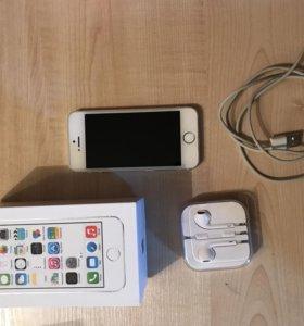 IPhone 5s 32 gb цвет белый