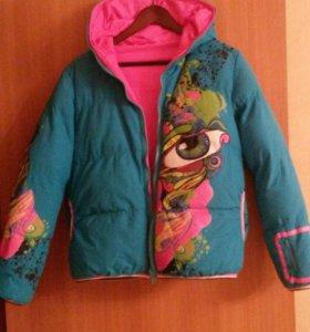 Двухсторон. Зимняя куртка