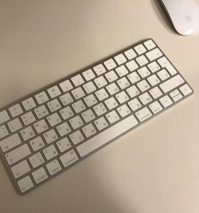 Клавиатура и мышка Apple