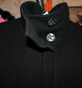 Кашемировое пальто новое