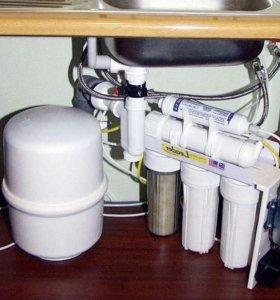 Услуги сантехника установка фильтров