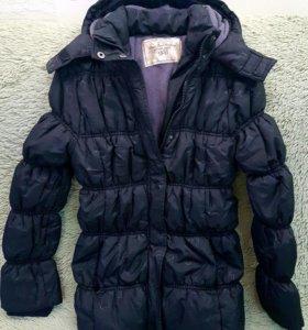 Утепленная куртка для девочки