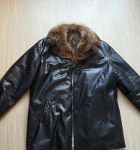 Куртка мужская, мех натуральный