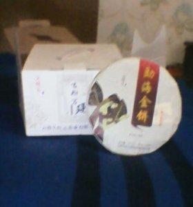 Чай прессованный пуэр, китайский. Чёрный.
