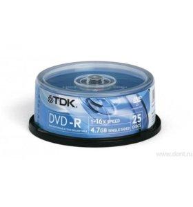 TDK DVD-R 4,7Gb DVD-диск