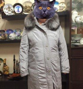Пальто зимнее очень тёплое