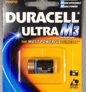 Батарея CR2 Duracell ultra M3