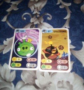Карточки ангрибердс
