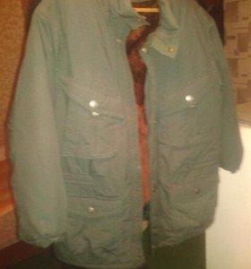 Новая зимняя куртка не б / у