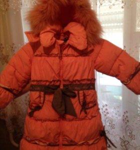 Куртка зимняя детская для девочки