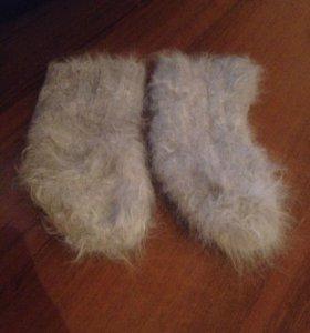 Носки из козьего пуха