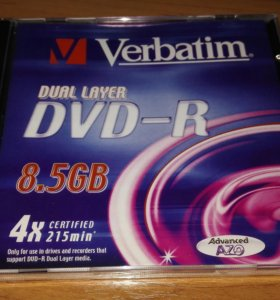 DVD -R 8,5GB 4X