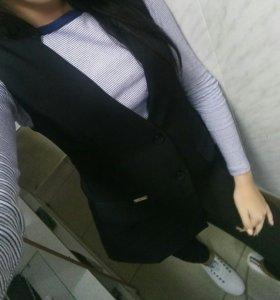 Костюм, жакет+брюки