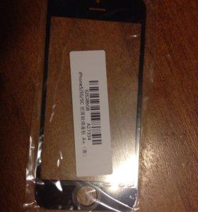 Стекло для замены на iphone 5/5s/5c