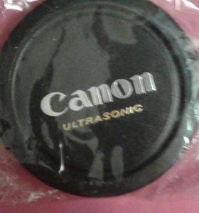 Крышка  для обьектива 58 мм canon