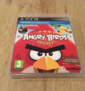 """Игра для PS3 """" ANGRY BIRDS TRILOGU"""""""