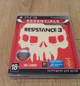 """Игра для PS3 """" RESISTACE 3"""""""