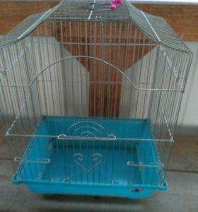 Клетка для попугая б\у