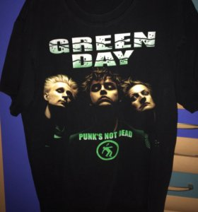 Майка Green Day Punks not dead