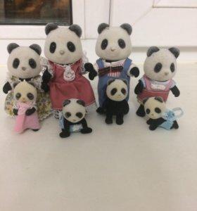 Семья панды сильван фэмэли