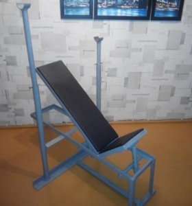 Наклонная скамья для штанги(лежак)