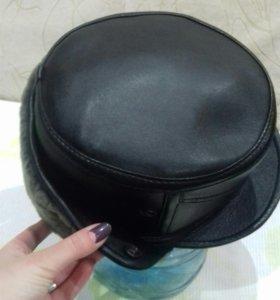 Мужская шапка натуральная
