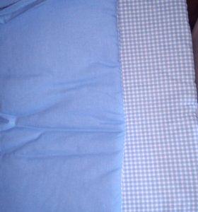 Бортики на кровать