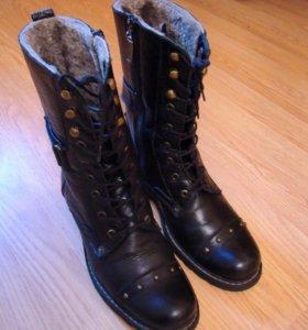 Сапоги ботинки берцы женские зимние