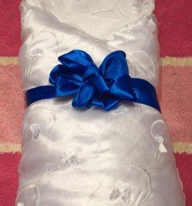 Конверт-одеяло на выписку( 2 набора)