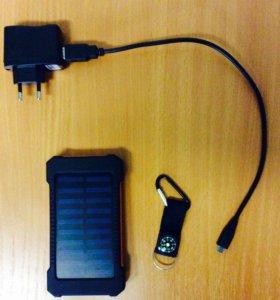 Power bank внешний аккумулятор+компас