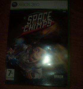 SPACE CHIMPS XBOX-360